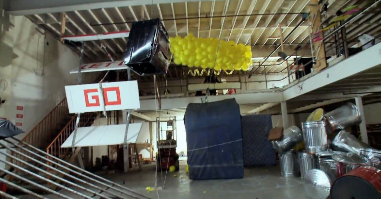 "OK Go: ""This Too Shall Pass"" – The Most Amazing Rube Goldberg Machine"